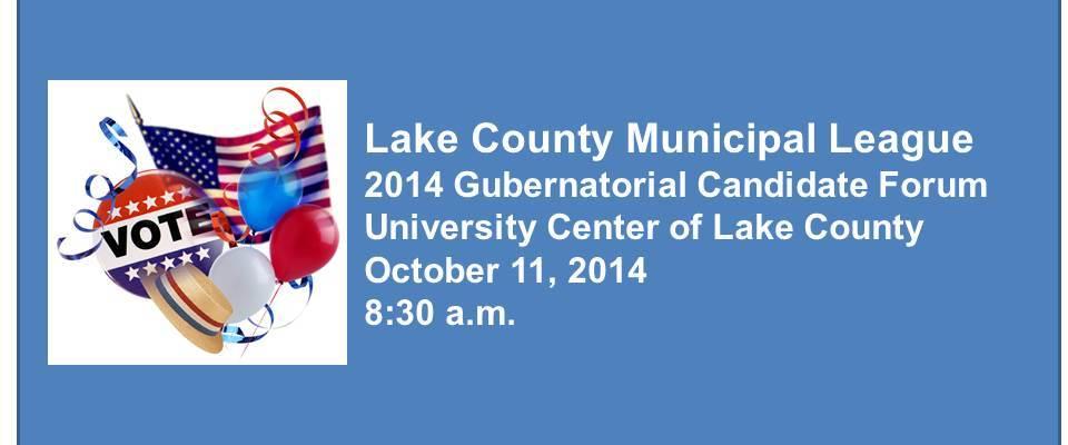 2014 Gubernatorial Candidate Forum