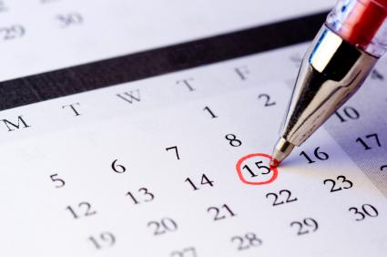 2015 Membership Meeting Dates